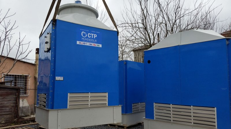 Cooling towers water CTP Eng. Corp.